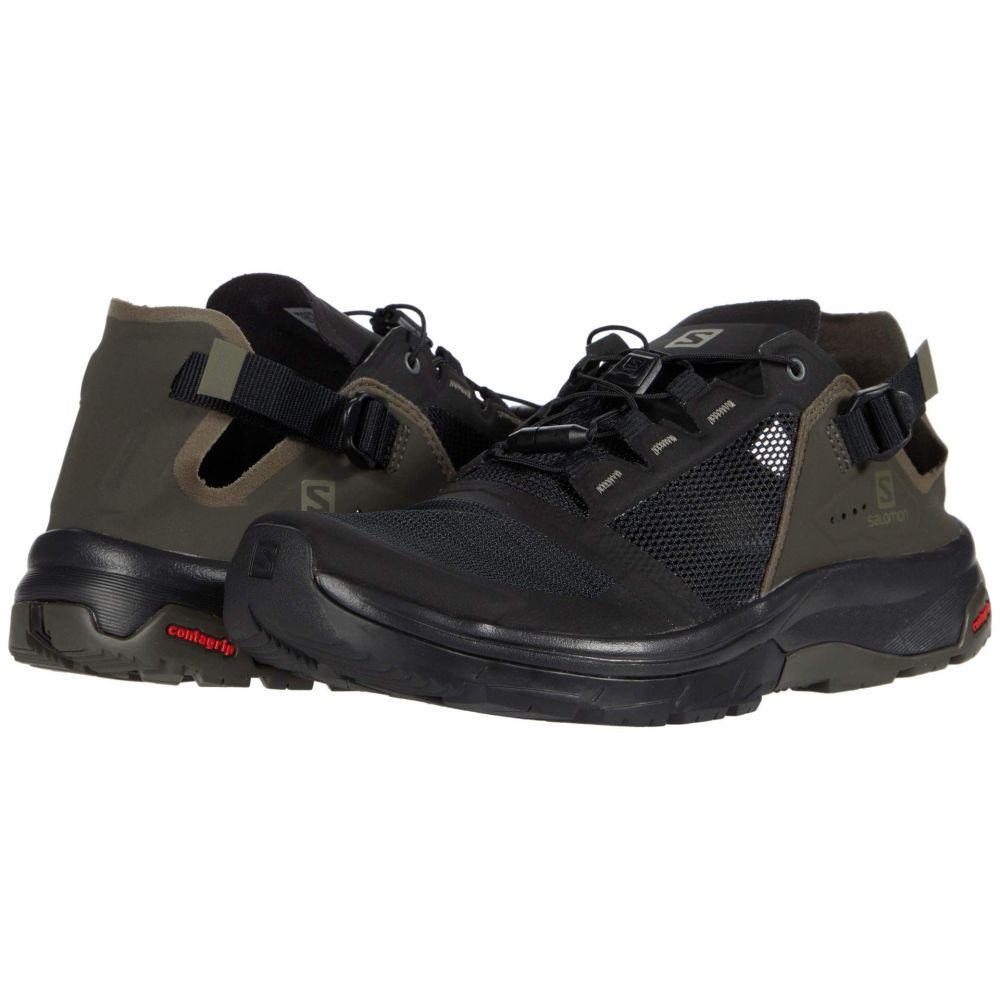 サロモン Salomon メンズ ハイキング・登山 シューズ・靴【Tech Amphib 4】Black/Beluga/Castor Gray