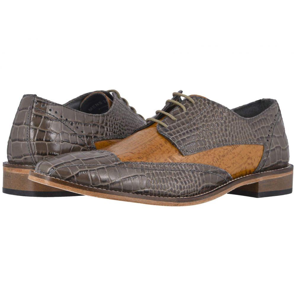 ステイシー アダムス Stacy Adams メンズ 革靴・ビジネスシューズ シューズ・靴【Fabriano Cap Toe Oxford】Gray/Tan