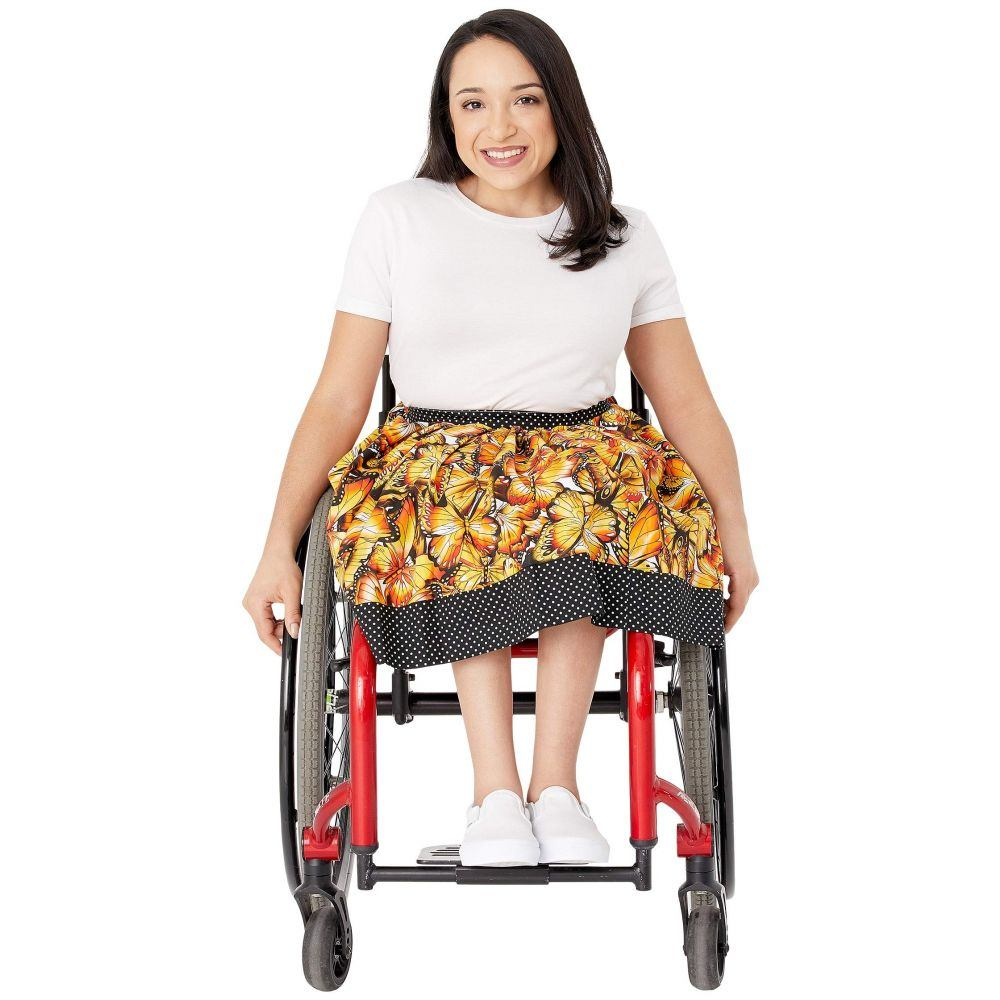 e Ispirante - Creative Adaptive Clothing レディース スカート 【Georgina Gathered Front Skirt】Butterfly Multi