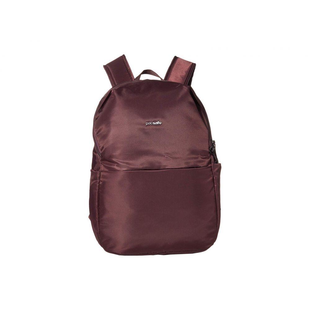 パックセーフ Pacsafe レディース バックパック・リュック バッグ【Cruise Essentials Backpack】Pinot