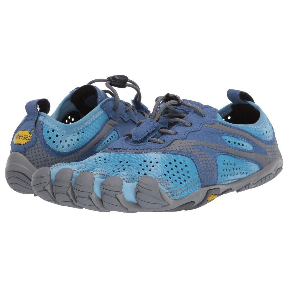 ビブラムファイブフィンガーズ Vibram FiveFingers レディース ランニング・ウォーキング シューズ・靴【V-Run】Blue/Blue