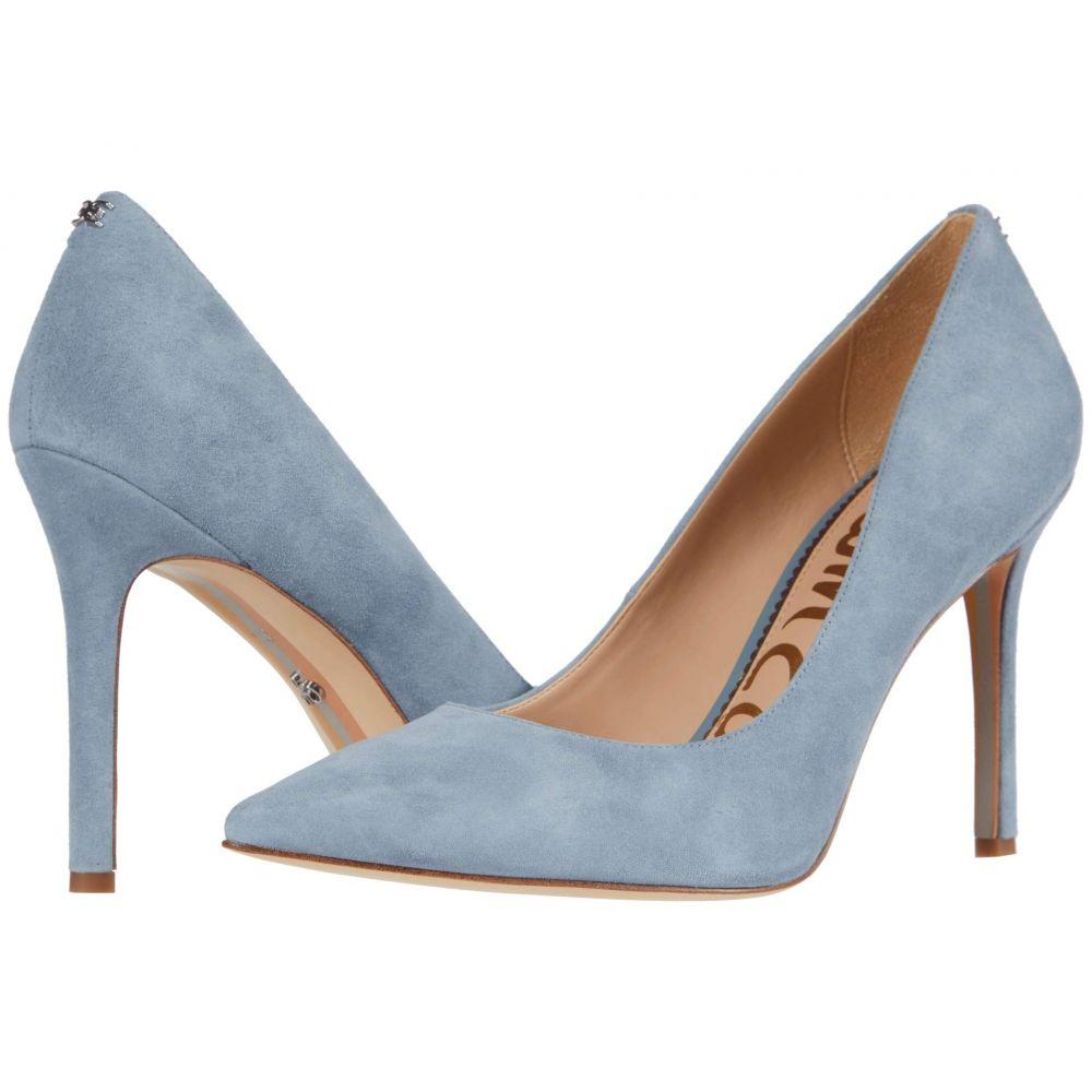 サム エデルマン Sam Edelman レディース ヒール シューズ・靴【Hazel】Smokey Blue Suede Leather