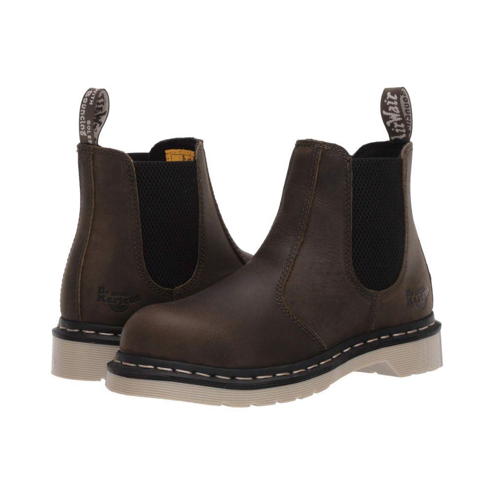 ドクターマーチン Dr. Martens Work レディース ブーツ チェルシーブーツ シューズ・靴【Arbor Steel Toe Chelsea Boot】Olive Wyoming