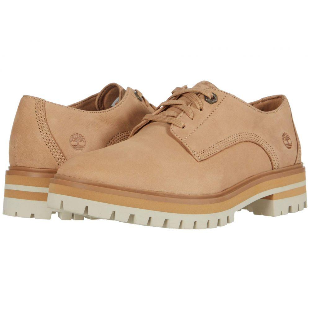 ティンバーランド Timberland レディース ローファー・オックスフォード シューズ・靴【London Square Oxford】Light Brown Nubuck