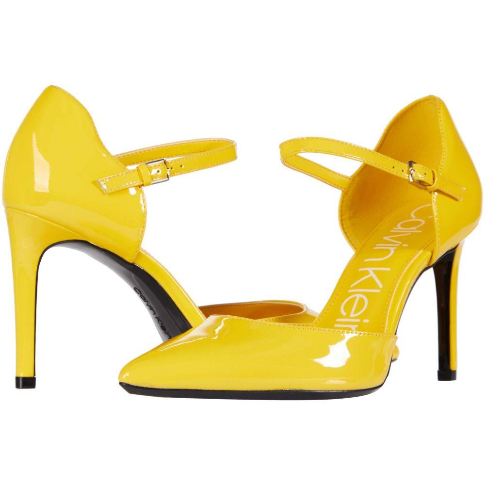 カルバンクライン Calvin Klein レディース ヒール シューズ・靴【Roya】Process Yellow