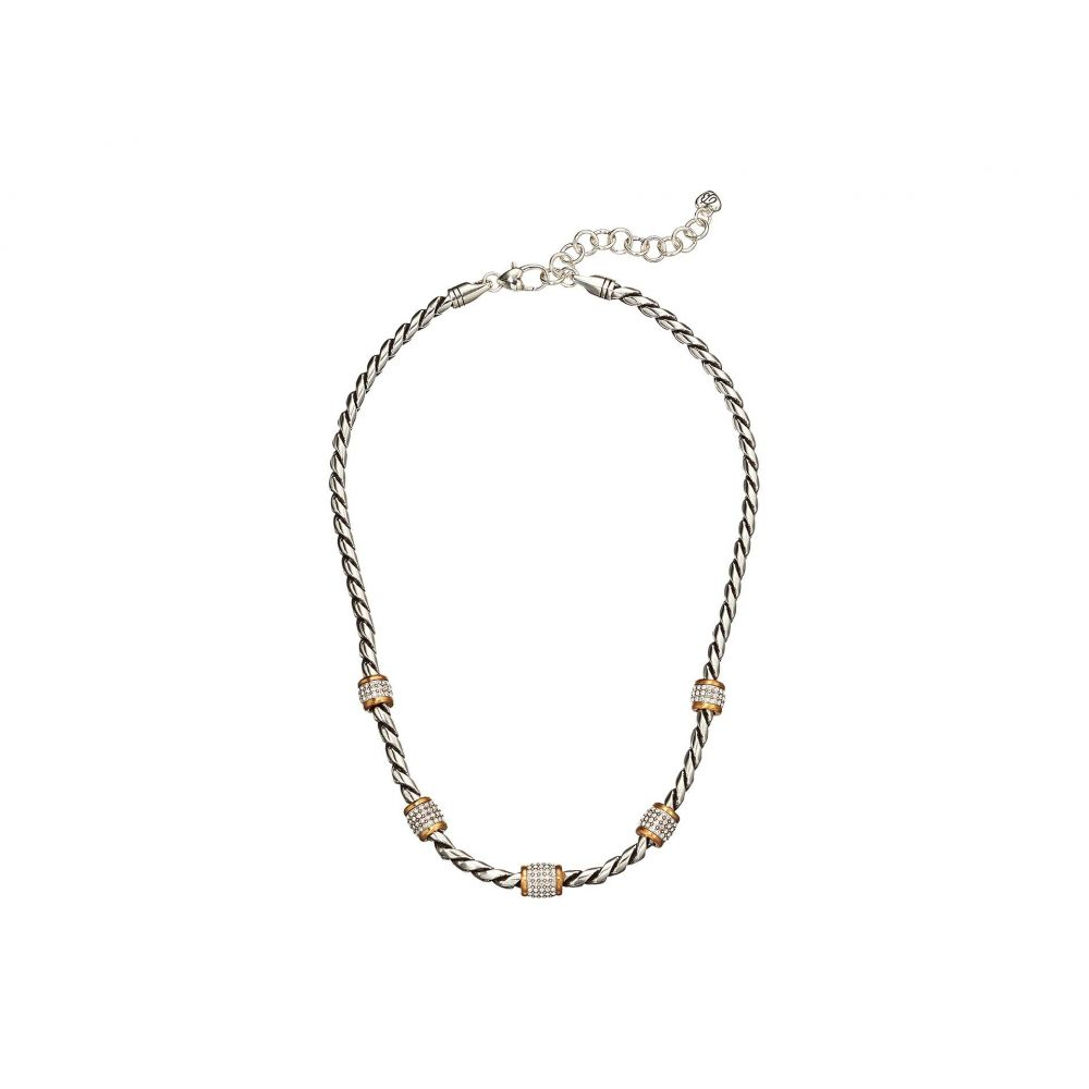 ブライトン Brighton レディース ネックレス ジュエリー・アクセサリー【Meridian Necklace】Silver/Gold