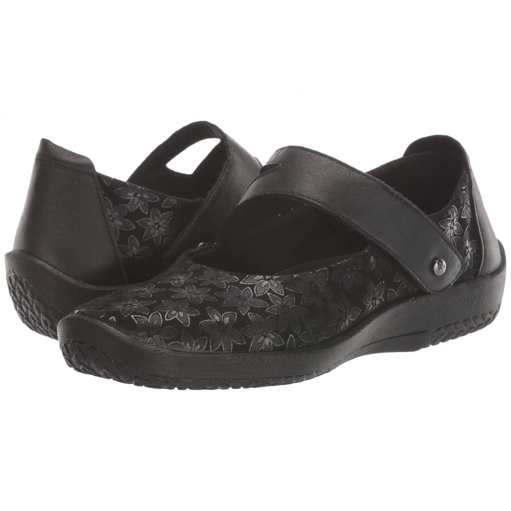 アルコペディコ Arcopedico レディース スリッポン・フラット シューズ・靴【Cosmo】Black Agatha