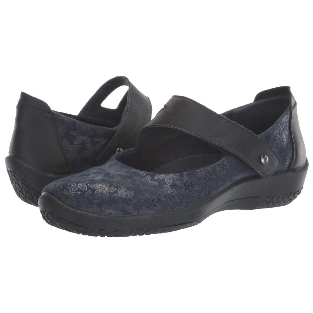 アルコペディコ Arcopedico レディース スリッポン・フラット シューズ・靴【Cosmo】Navy Agatha