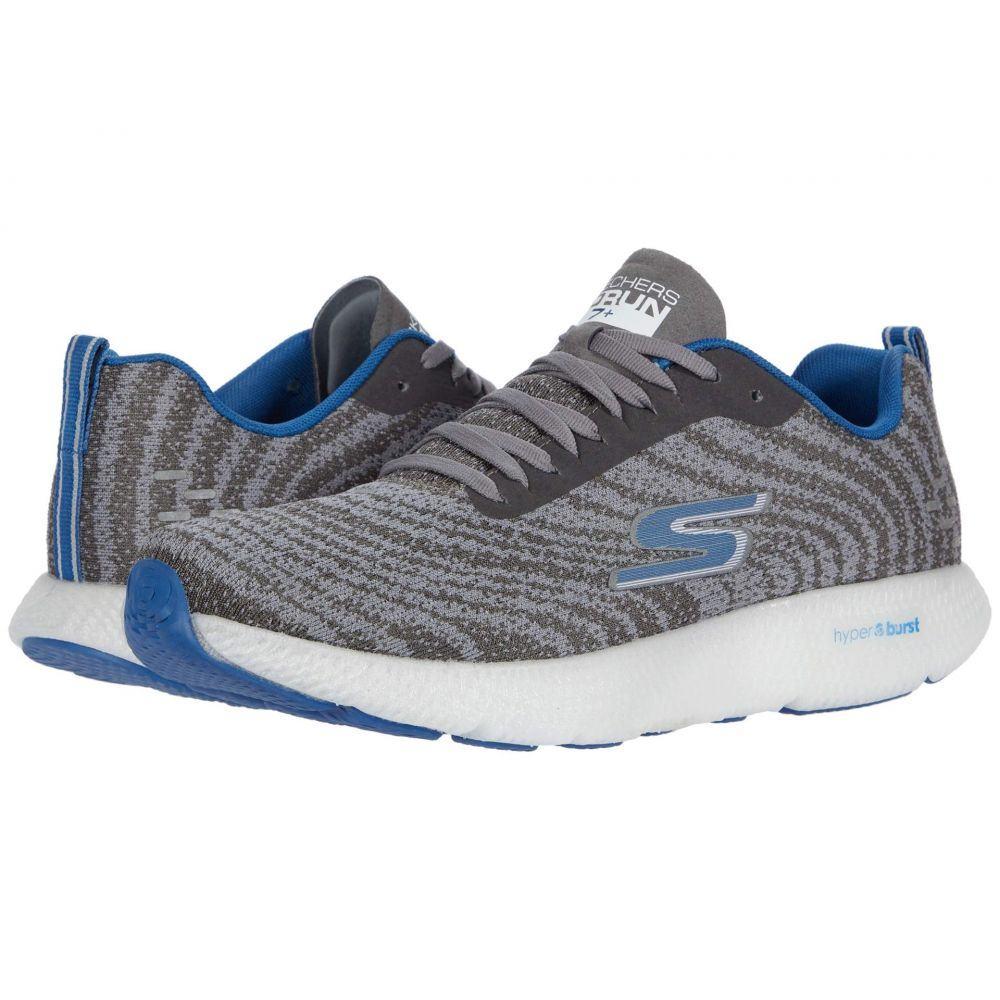 スケッチャーズ SKECHERS メンズ ランニング・ウォーキング シューズ・靴【Go Run 7+】Charcoal/Blue