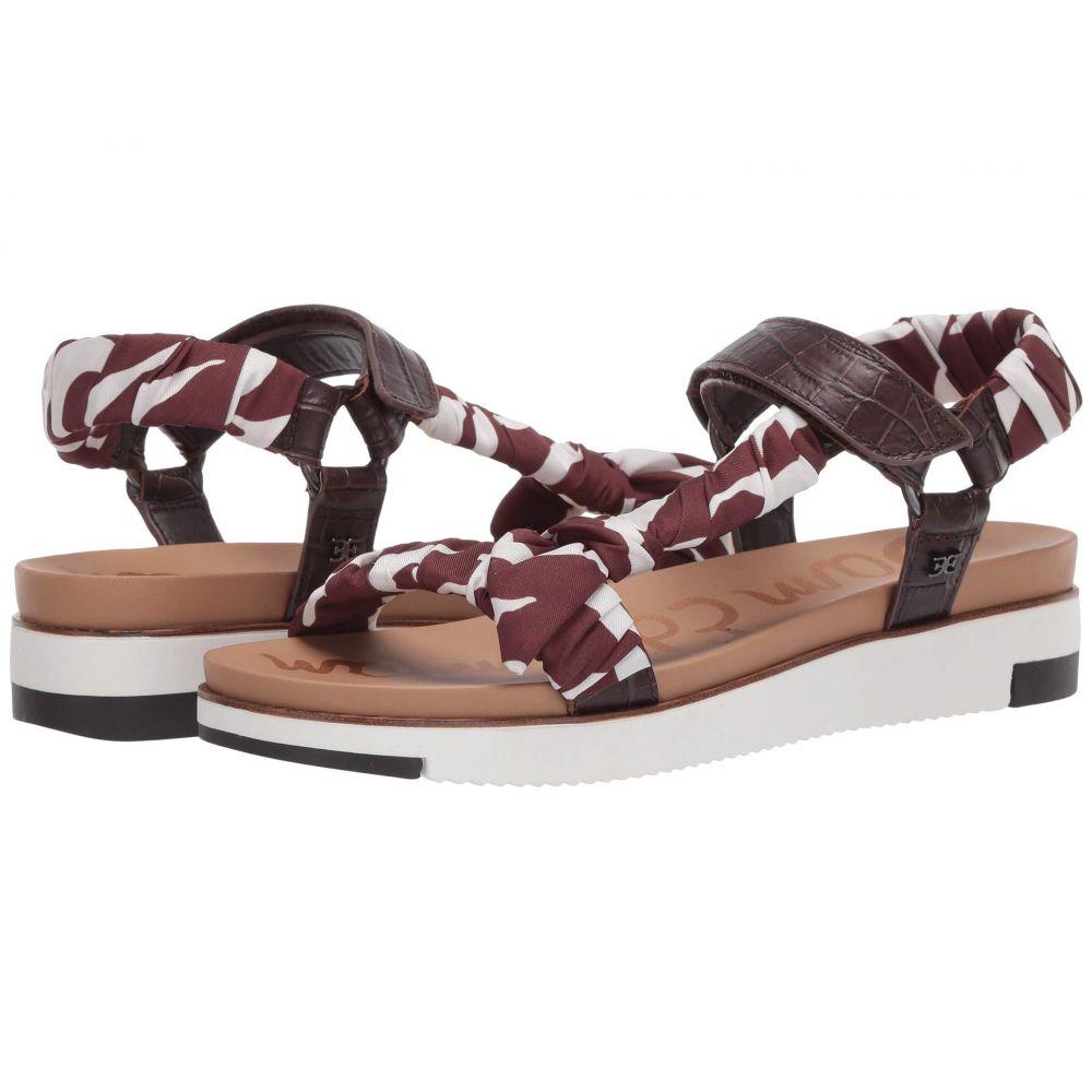 サム エデルマン Sam Edelman レディース サンダル・ミュール シューズ・靴【Ashie】Brown/Brown Multi Shiro Croco Leather/Dress Silk Zambian Zebra