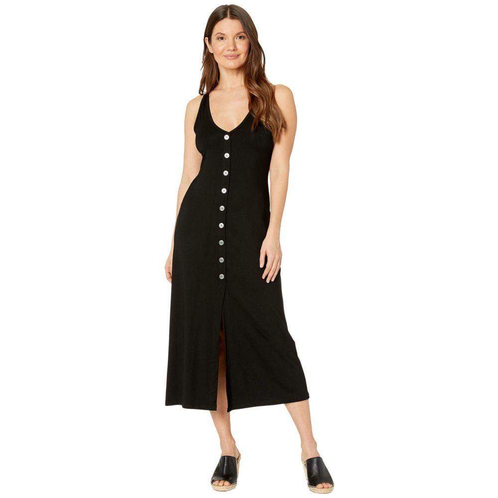 カレンケーン Karen Kane レディース ワンピース ワンピース・ドレス【Button-Up Alana Dress】Black