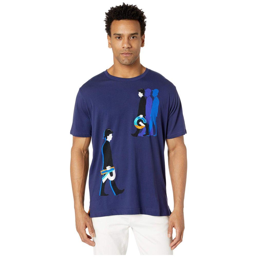 ロバートグラハム Robert Graham メンズ Tシャツ トップス【Walk Like RG T-Shirt】Sapphire