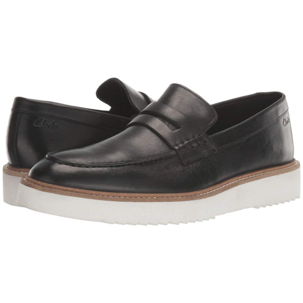 クラークス Clarks メンズ ローファー シューズ・靴【Ernest Free】Black Leather