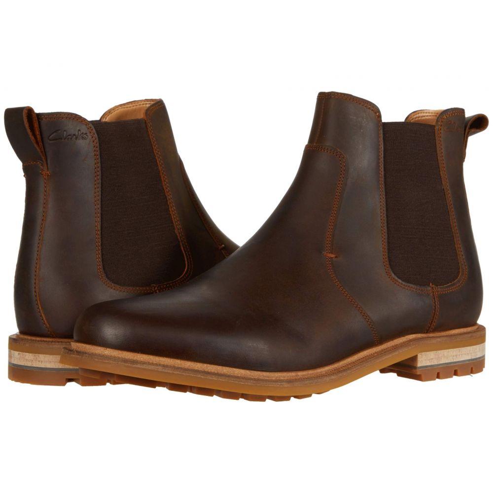 クラークス Clarks メンズ ブーツ シューズ・靴【Foxwell Top】Beeswax Leather