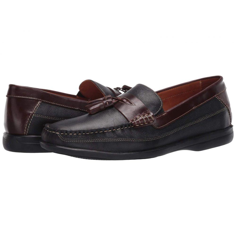 ジョンストン&マーフィー Johnston & Murphy メンズ ローファー シューズ・靴【Locklin Tassel】Black Full Grain