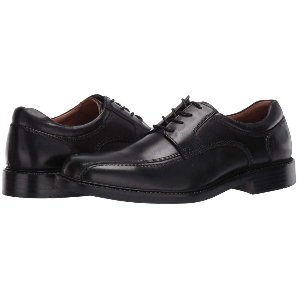 ジョンストン&マーフィー Johnston & Murphy メンズ 革靴・ビジネスシューズ レースアップ シューズ・靴【Tabor Runoff Lace-Up】Black Calfskin