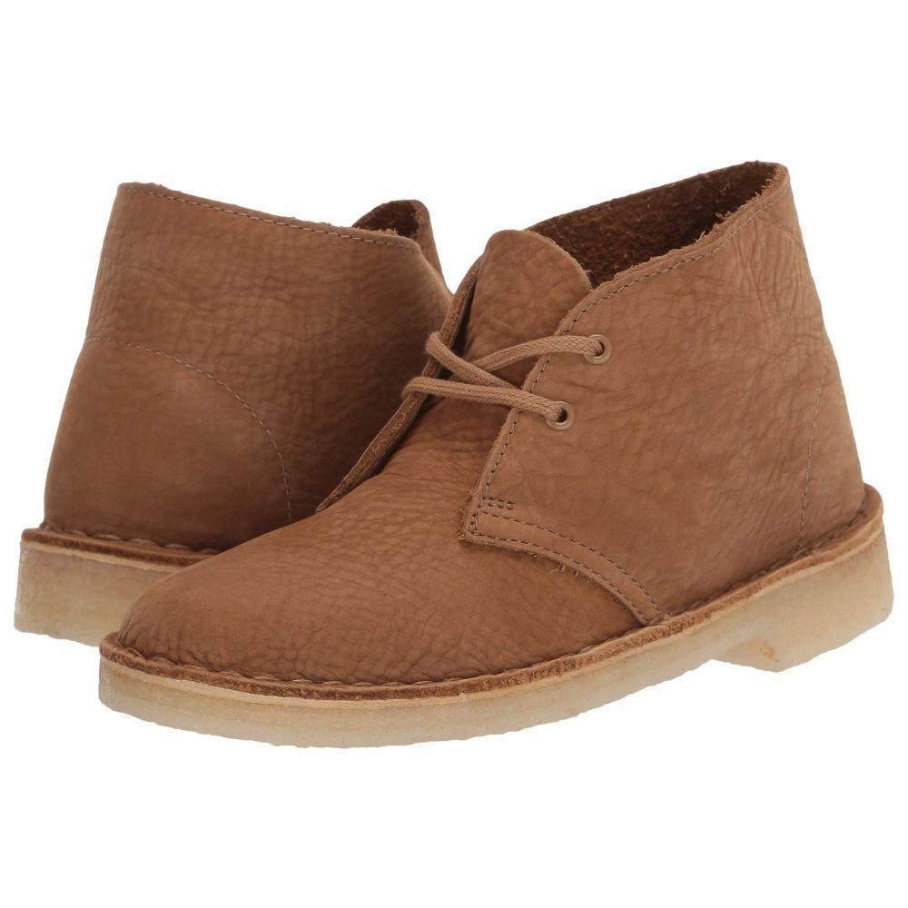 クラークス Clarks レディース ブーツ シューズ・靴【Desert Boot】Oak Nubuck
