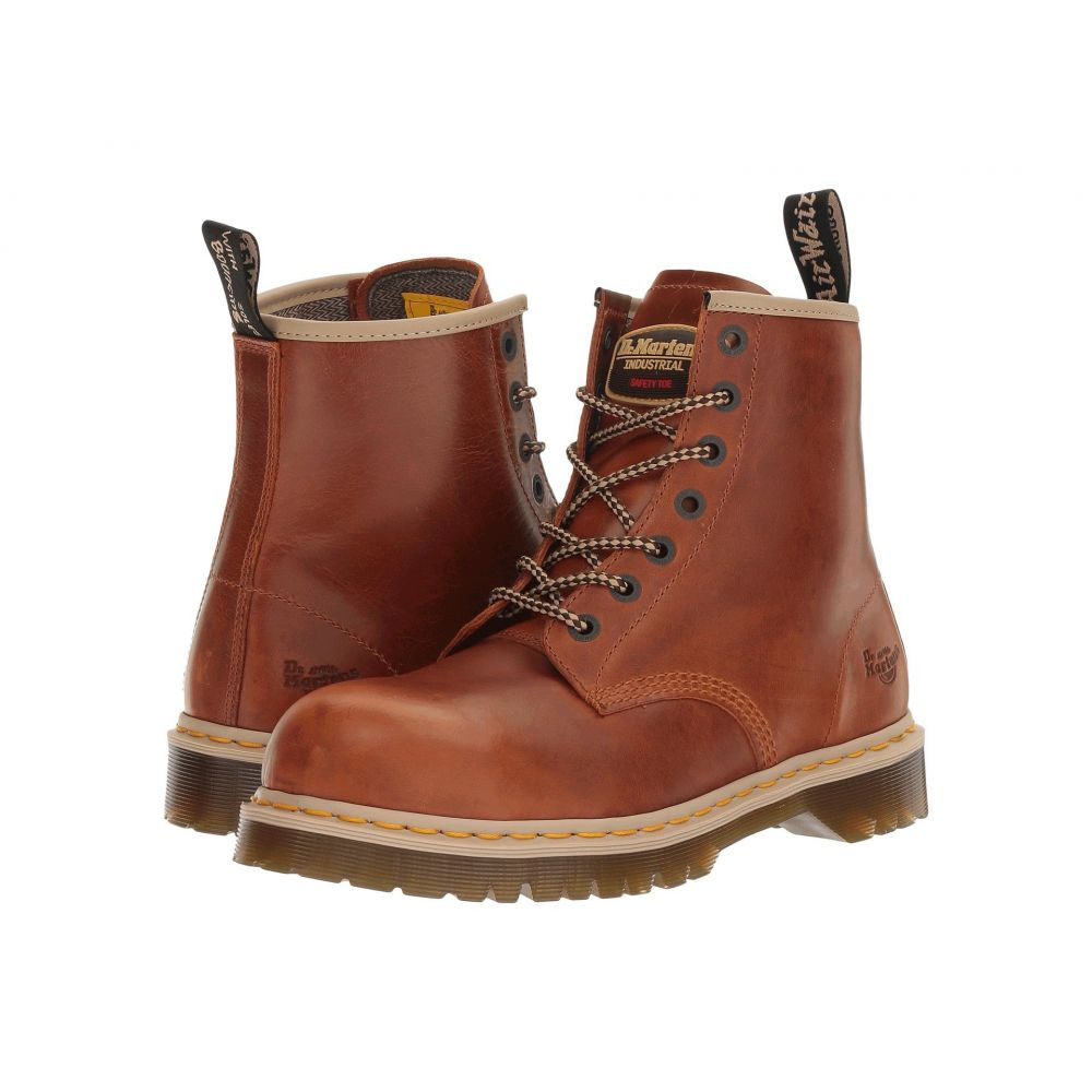 ドクターマーチン Dr. Martens Work メンズ ブーツ シューズ・靴【Icon 7B10】Tan Industrial Waxy