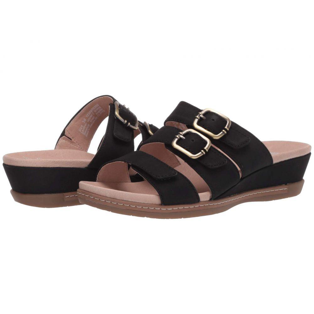 ダンスコ Dansko レディース サンダル・ミュール シューズ・靴【Allyson】Black Milled Nubuck