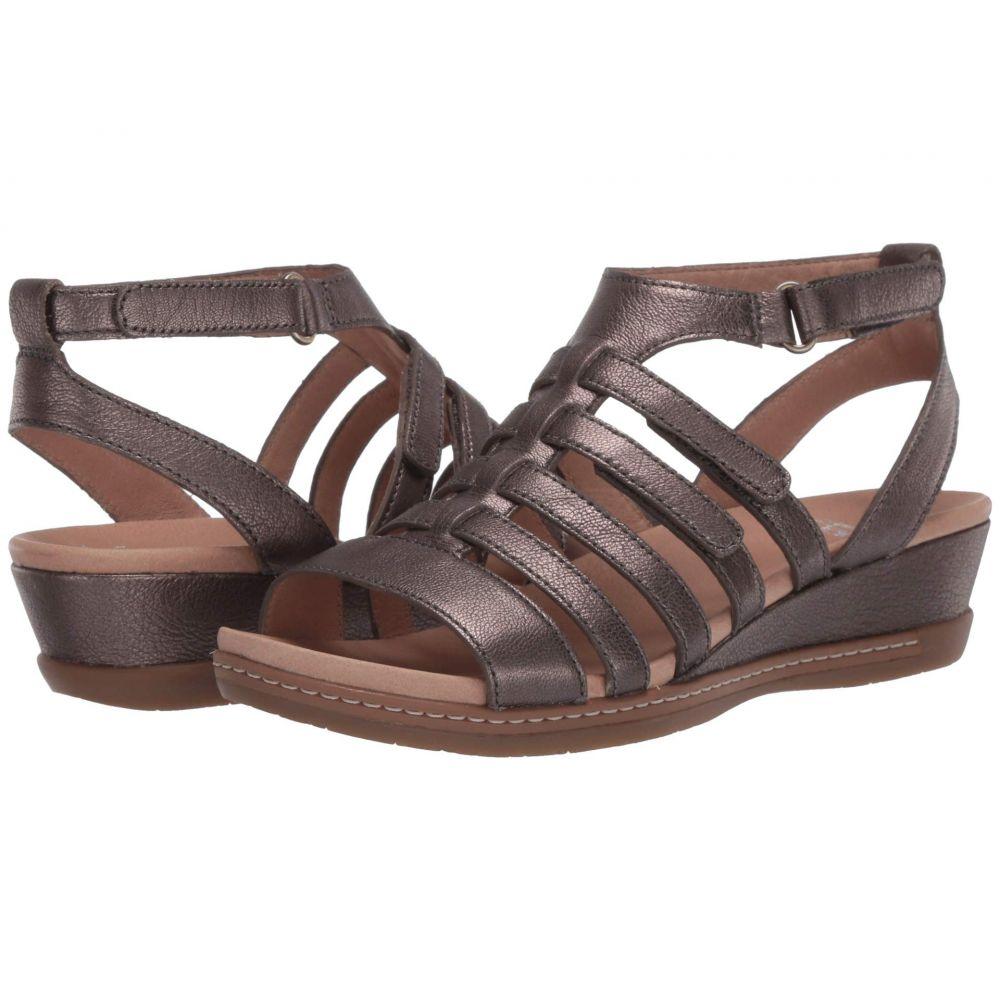 ダンスコ Dansko レディース サンダル・ミュール シューズ・靴【Athena】Pewter Nappa