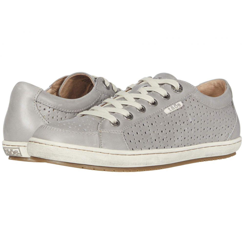 タオス Taos Footwear レディース スニーカー シューズ・靴【Jester】Light Grey