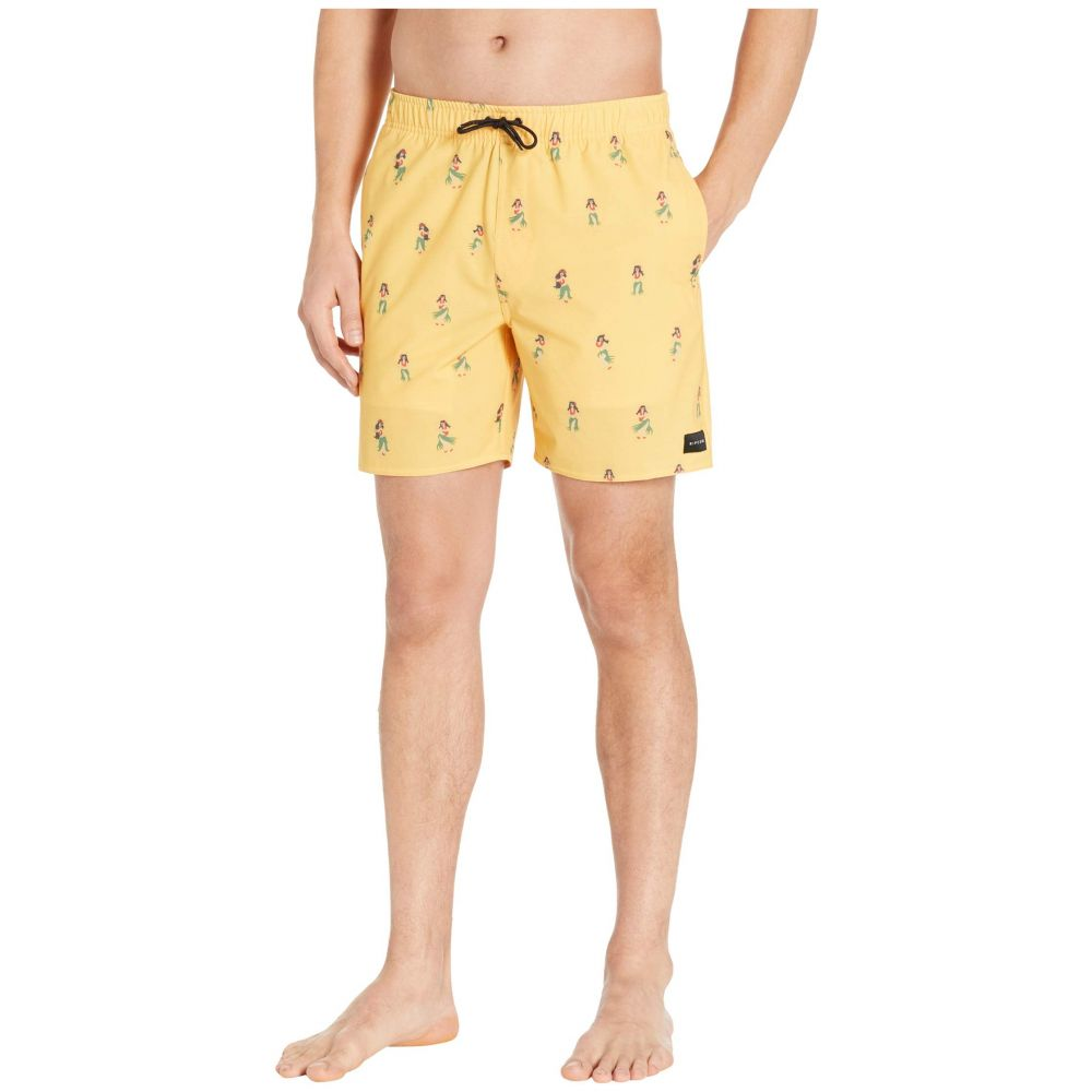 リップカール Rip Curl メンズ 海パン 水着・ビーチウェア【Vacation Volley】Yellow
