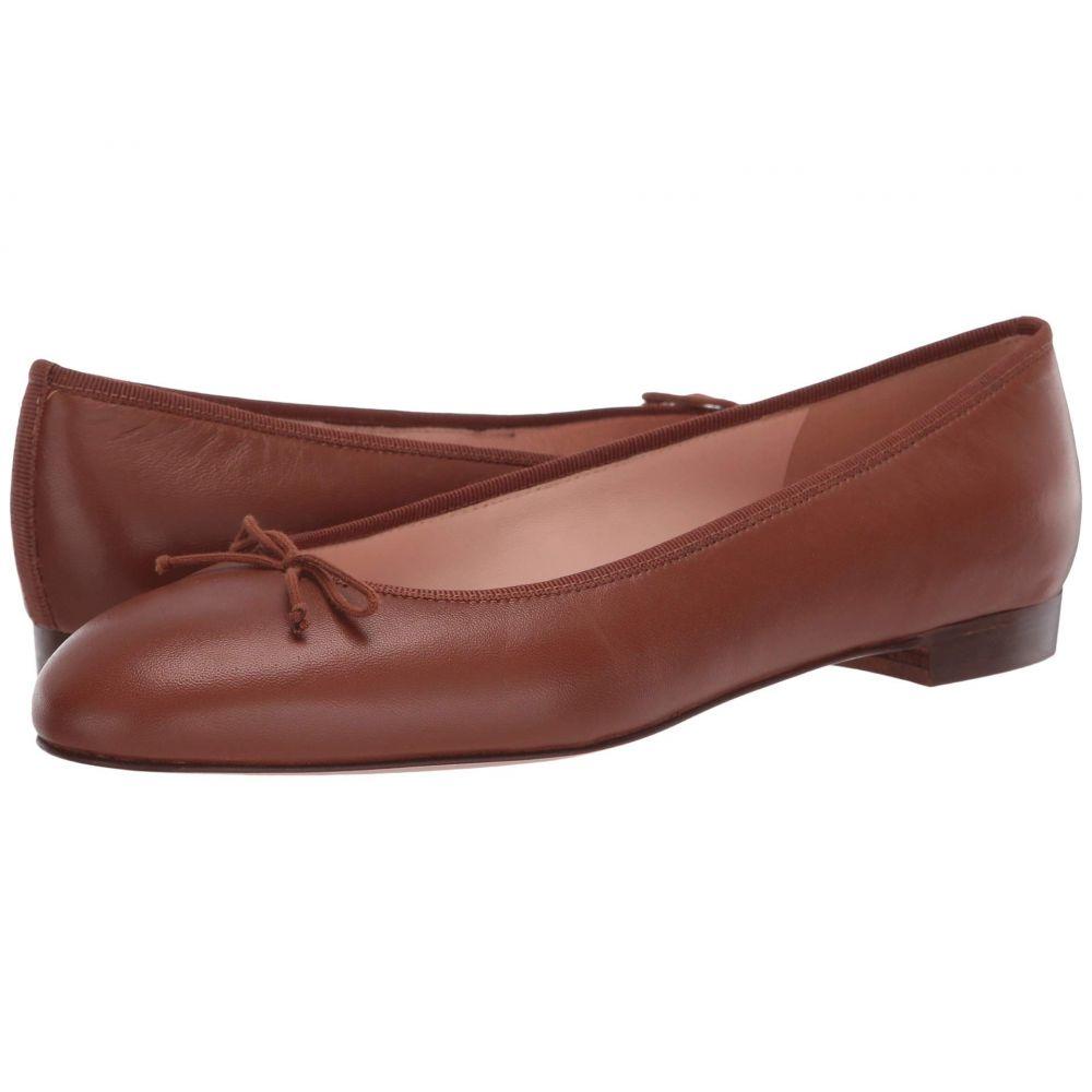 ジェイクルー J.Crew レディース スリッポン・フラット シューズ・靴【Leather Uptown Classic Ballet】Warm Sepia