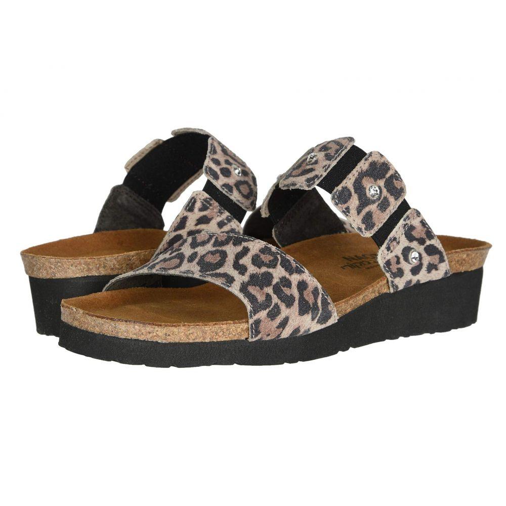 ナオト Naot レディース サンダル・ミュール シューズ・靴【Ashley】Cheetah Suede