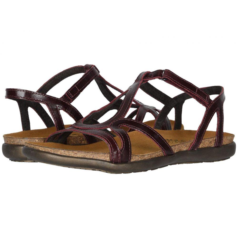 ナオト Naot レディース サンダル・ミュール シューズ・靴【Dorith】Bordeaux Leather