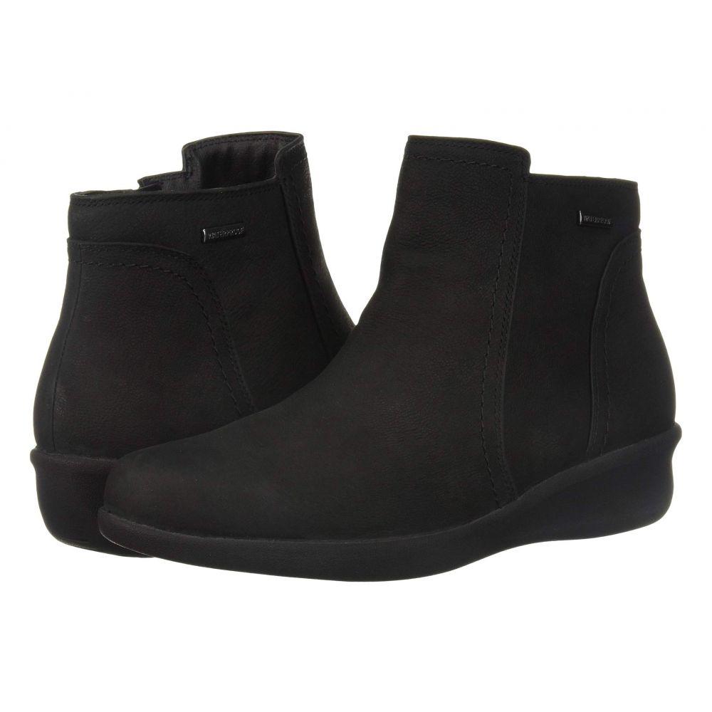 アラヴォン Aravon レディース ブーツ ショートブーツ シューズ・靴【Fairlee Waterproof Ankle Boot】Black Nubuck