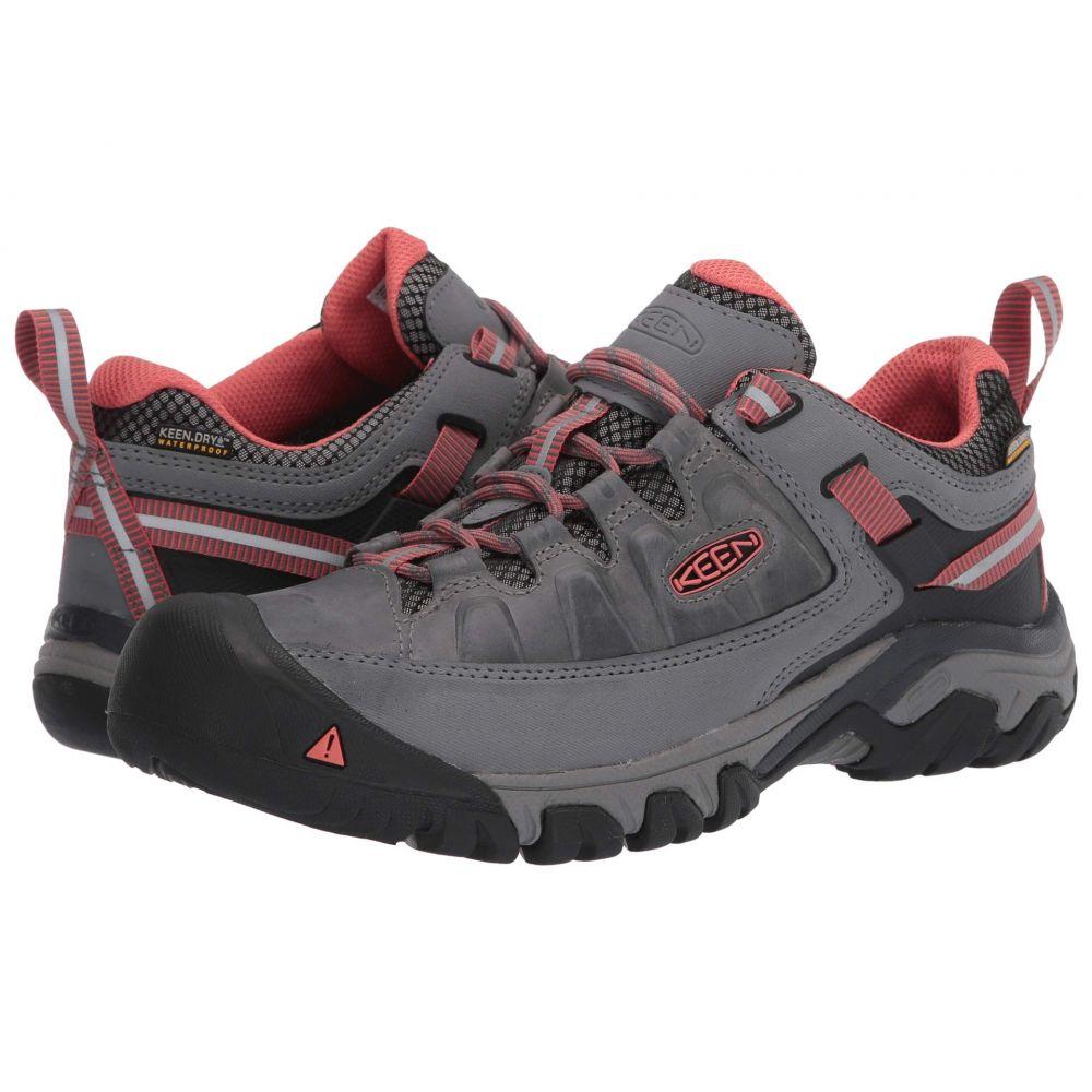 キーン Keen レディース ハイキング・登山 シューズ・靴【Targhee III Waterproof】Steel Grey/Coral