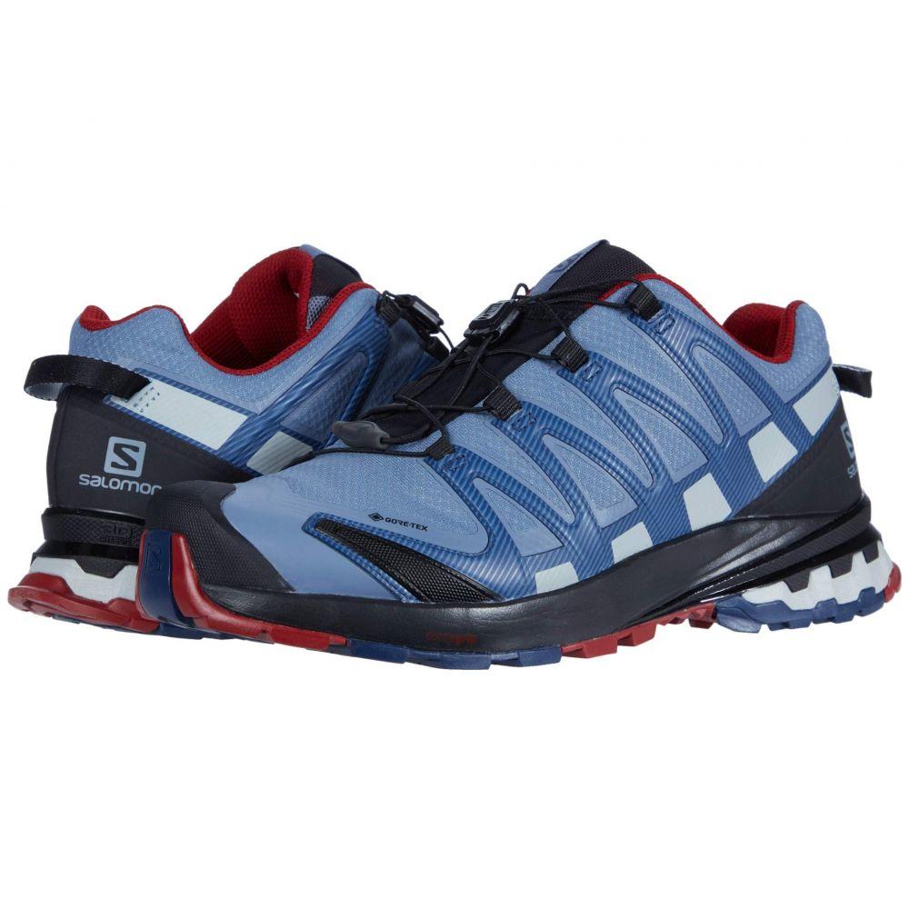 サロモン Salomon メンズ ランニング・ウォーキング シューズ・靴【XA Pro 3D V8 GTX】Flint Stone/Sargasso Sea/Red Dahlia