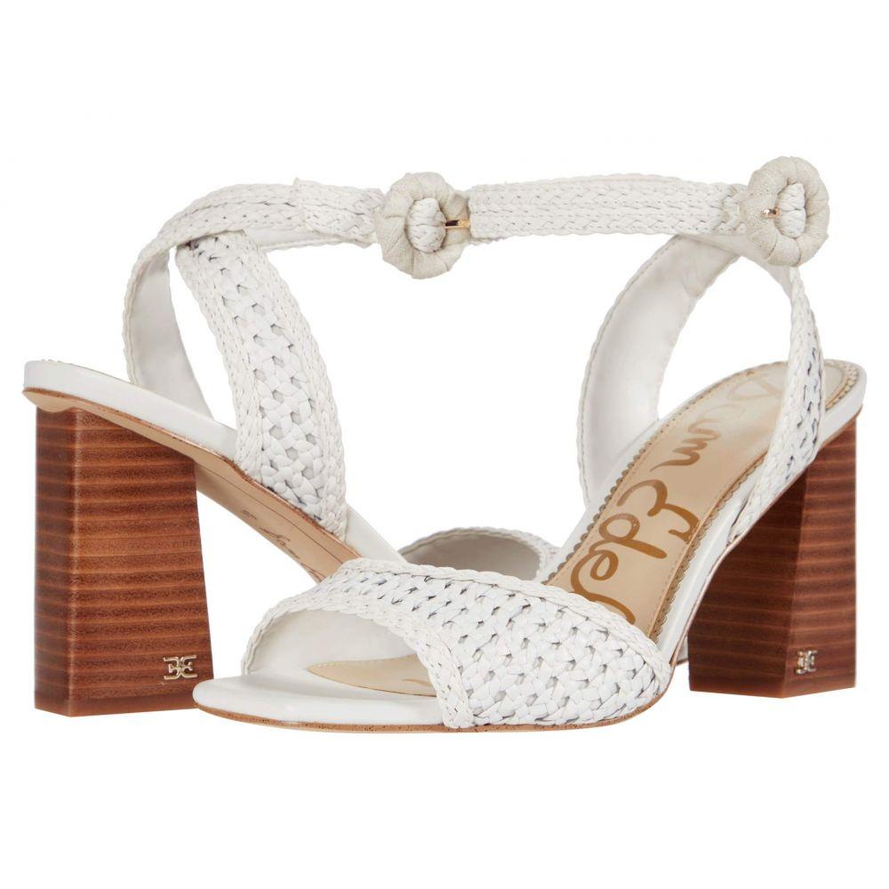 サム エデルマン Sam Edelman レディース サンダル・ミュール シューズ・靴【Danee】Bright White Zebu Woven Leather