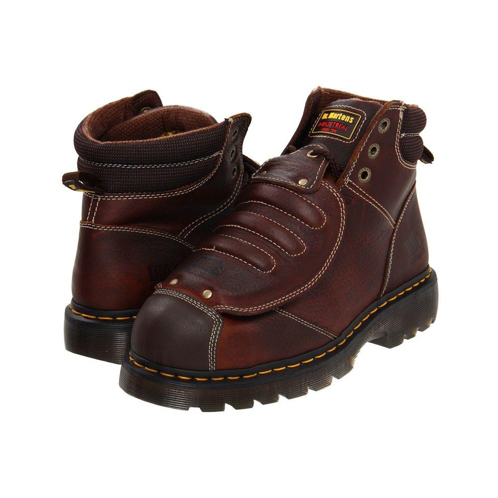 ドクターマーチン Dr. Martens Work メンズ ブーツ シューズ・靴【Ironbridge MG ST】Teak Industrial Grizzly