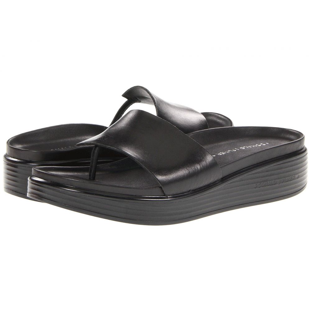 ドナルド ジェイ プリナー Donald J Pliner レディース ビーチサンダル シューズ・靴【Fifi】Black Vachetta