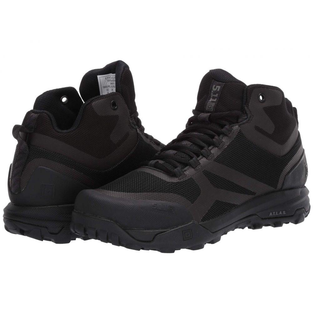 5.11 タクティカル 5.11 Tactical メンズ ブーツ シューズ・靴【A.T.L.A.S Mid】Black