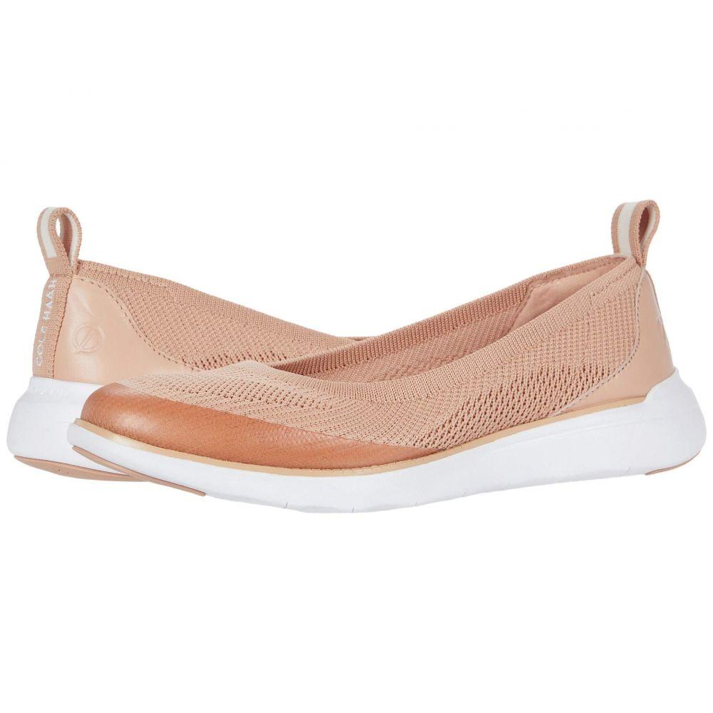 コールハーン Cole Haan レディース スリッポン・フラット シューズ・靴【Zerogrand Global Slip-On】Mahogany Rose/Rose Gold/Optic White