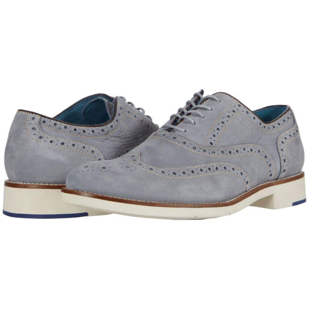 ジョンストン&マーフィー Johnston & Murphy メンズ 革靴・ビジネスシューズ ウイングチップ シューズ・靴【Watkins Wing Tip】Light Gray Nubuck