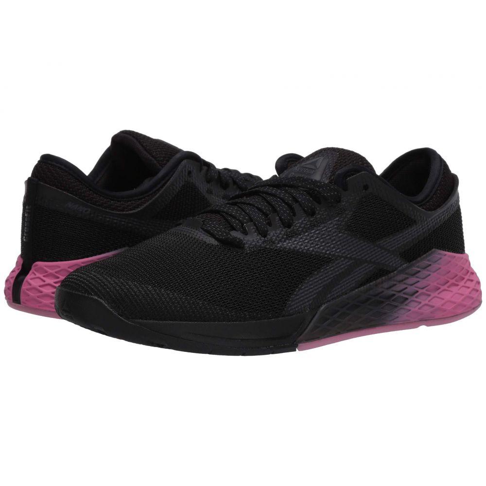 リーボック Reebok メンズ スニーカー シューズ・靴【Nano 9】Black/Cold Grey/Posh Pink