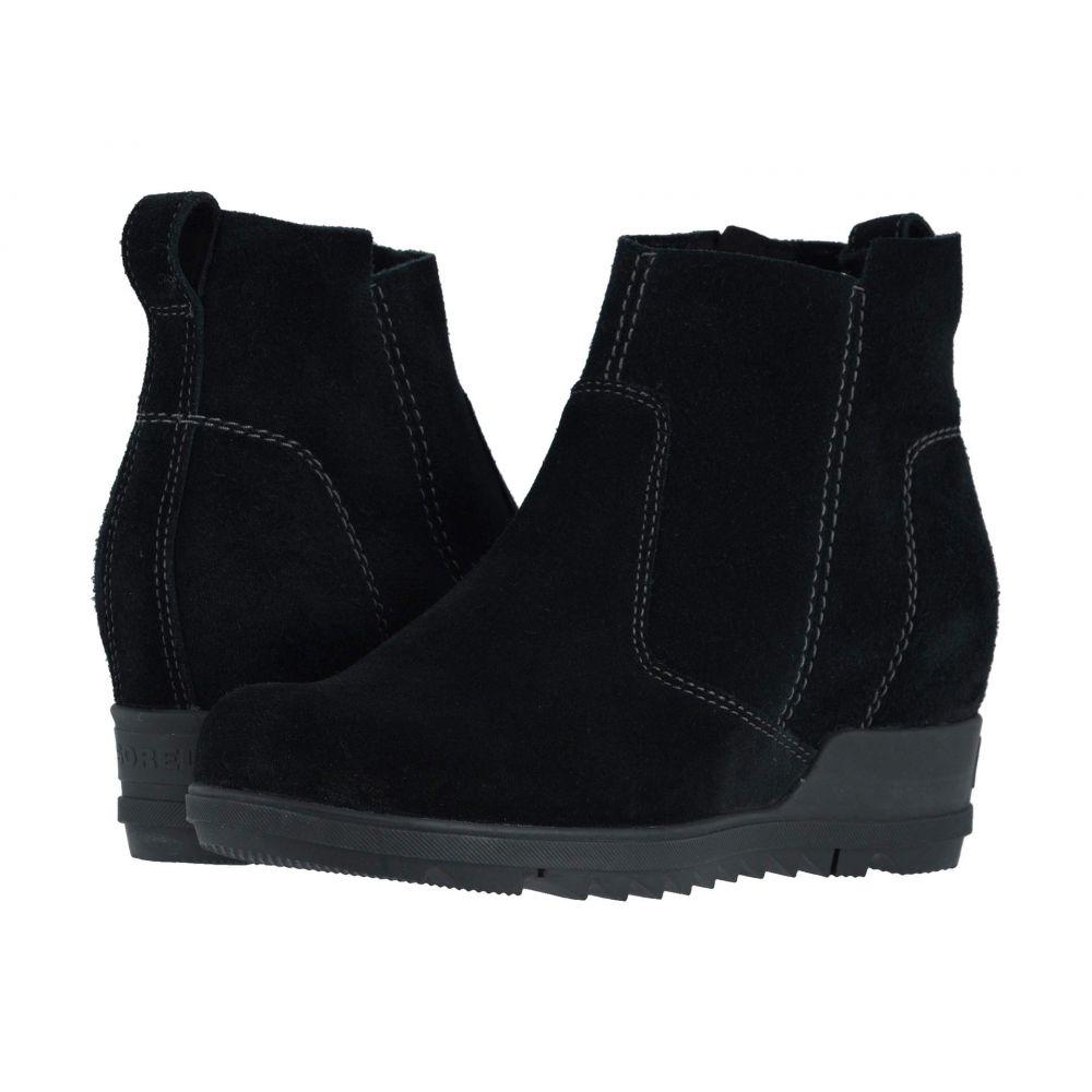 ソレル SOREL レディース ブーツ シューズ・靴【Evie(TM) Bootie】Black
