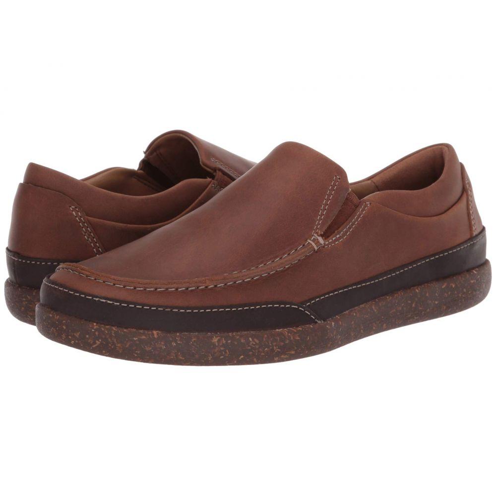 クラークス Clarks メンズ ローファー シューズ・靴【Un Lisbon Twin】Tan Oily Leather