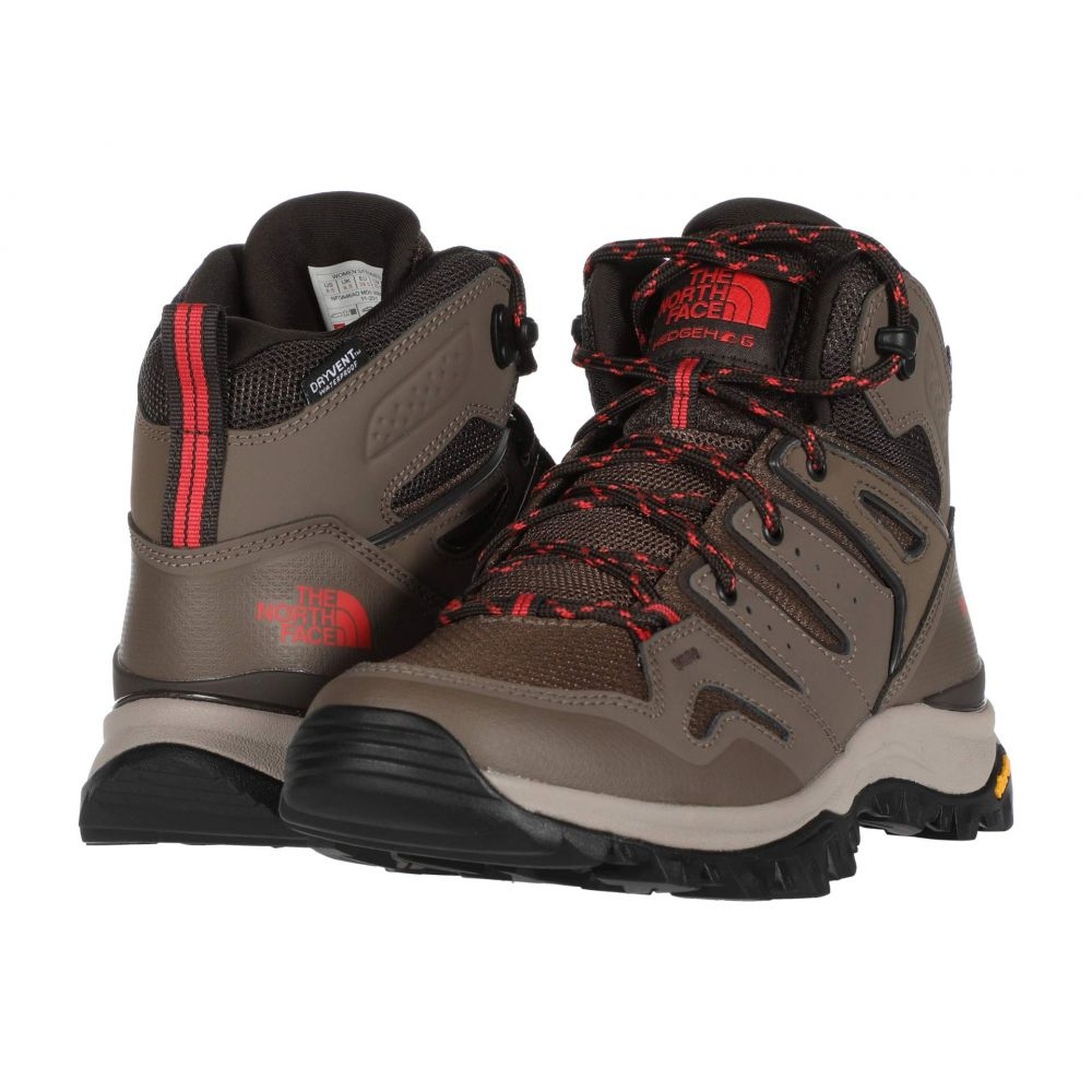 ザ ノースフェイス The North Face レディース ハイキング・登山 シューズ・靴【Hedgehog Fastpack II Mid Waterproof】Bipartisan Brown/Coffee Brown