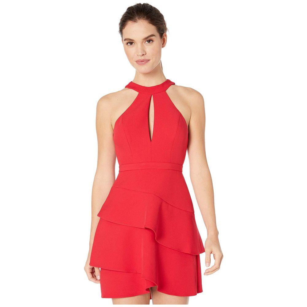 ビーシービージーマックスアズリア BCBGMAXAZRIA レディース ワンピース ワンピース・ドレス【Eve Short Woven Dress】Rio Red