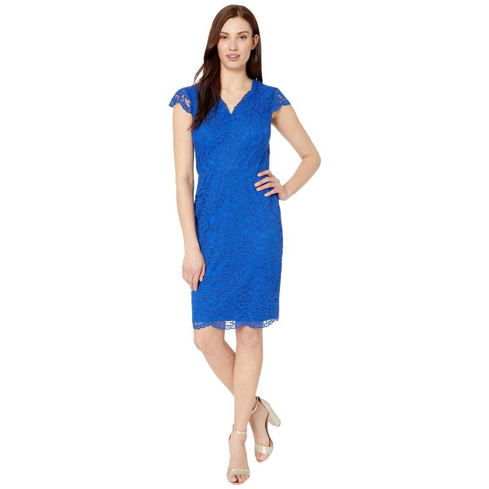 ラルフ ローレン LAUREN Ralph Lauren レディース ワンピース ワンピース・ドレス【Bambina Cap Sleeve Day Dress】Regal Sapphire
