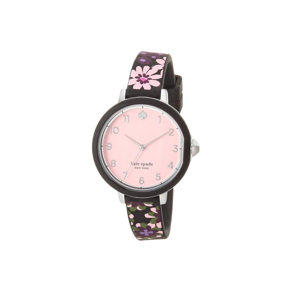 ケイト スペード Kate Spade New York レディース 腕時計 【Park Row Watch - KSW1615】Black