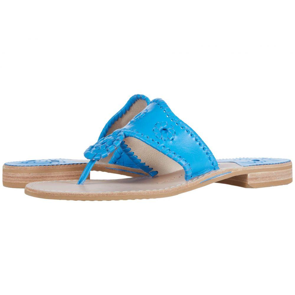 ジャックロジャース Jack Rogers レディース ビーチサンダル フラット シューズ・靴【Jacks Flat Sandal】Lapis