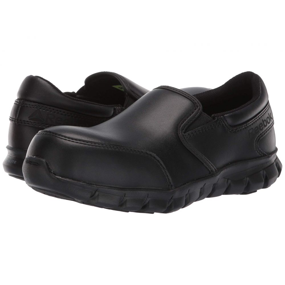 リーボック Reebok Work レディース スニーカー シューズ・靴【Sublite Cushion Work - RB036 Comp Toe SD10】Black