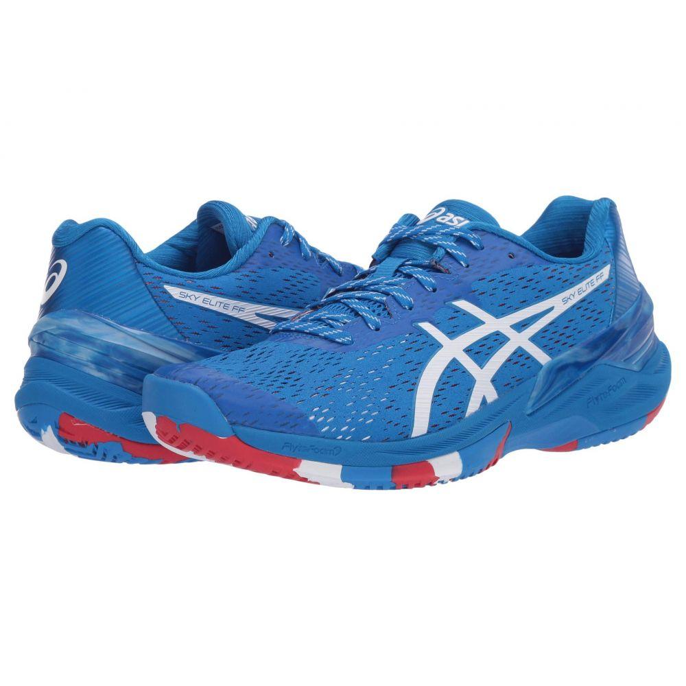 アシックス ASICS レディース バレーボール シューズ・靴【Sky Elite FF】Electric Blue/White