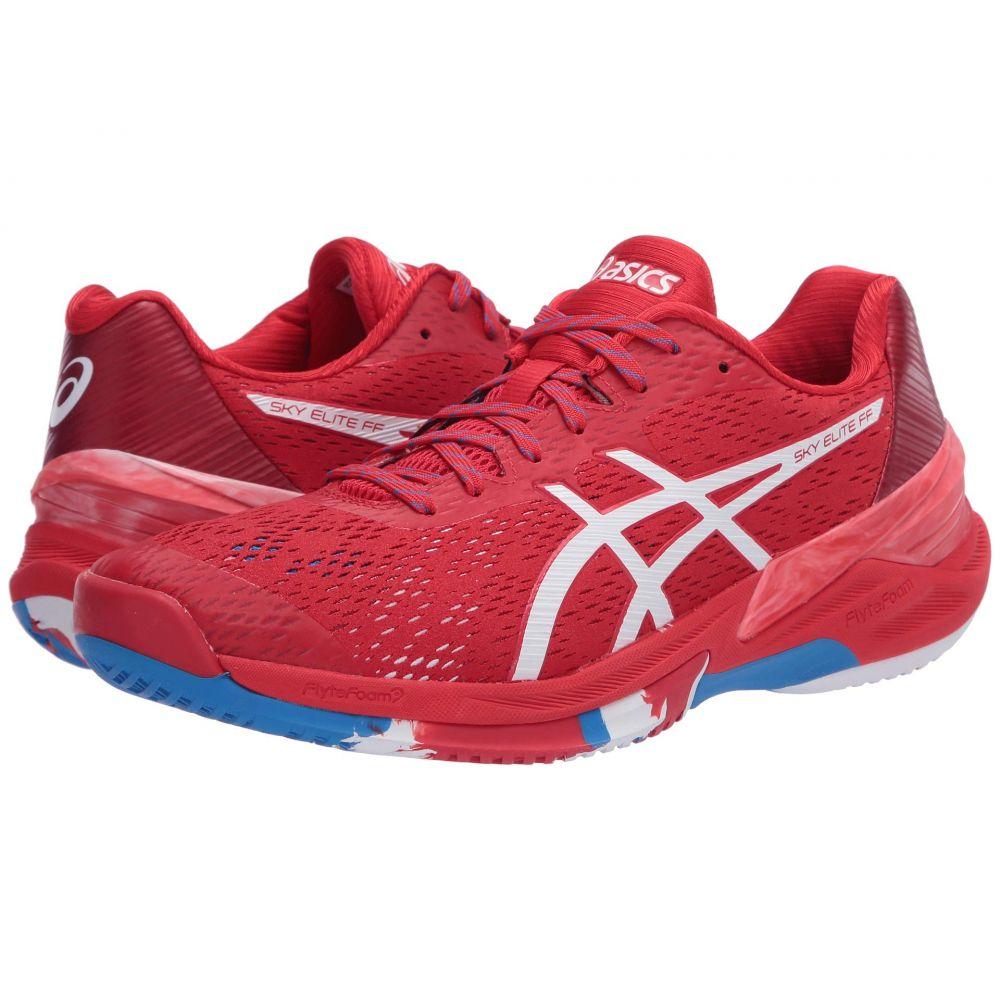 アシックス ASICS メンズ バレーボール シューズ・靴【Sky Elite FF】Classic Red/White