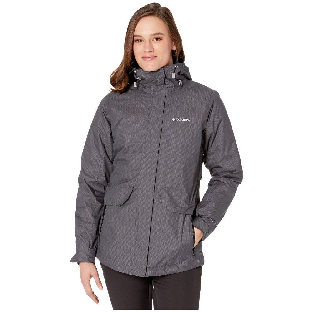 コロンビア Columbia レディース スキー・スノーボード ジャケット アウター【Emerald Lake II Interchange Jacket】Black/Diamond Texture/Black